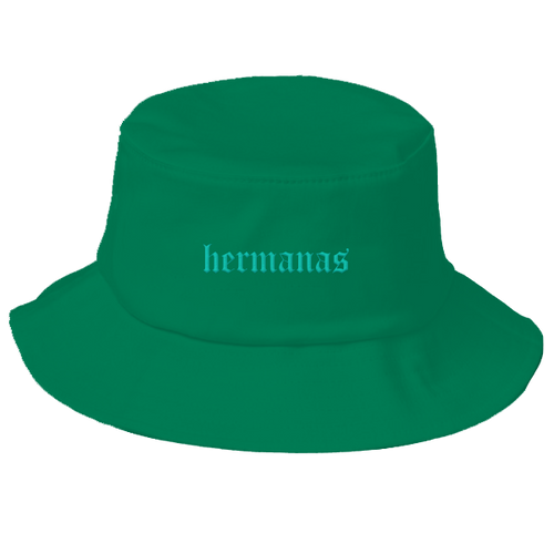 Hermanas Bucket Hat Emerald