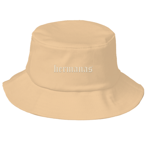 Hermanas Bucket Hat Nude