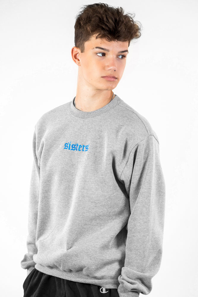 Originals Heather Grey Logo Crewneck