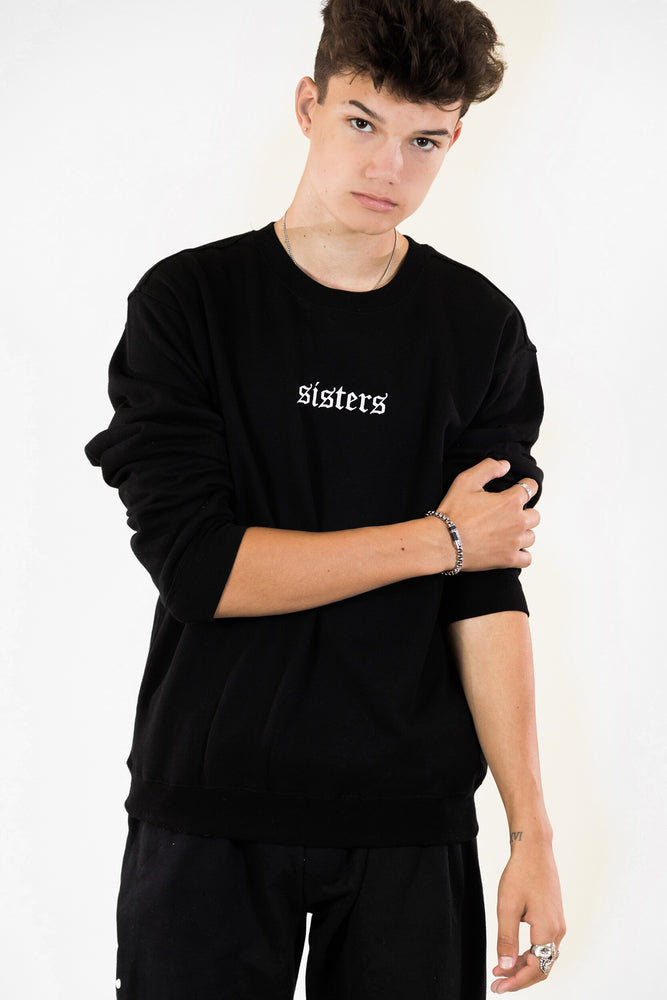 Originals Black Logo Crewneck