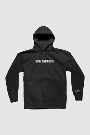 Good and Fresh Black Hoodie
