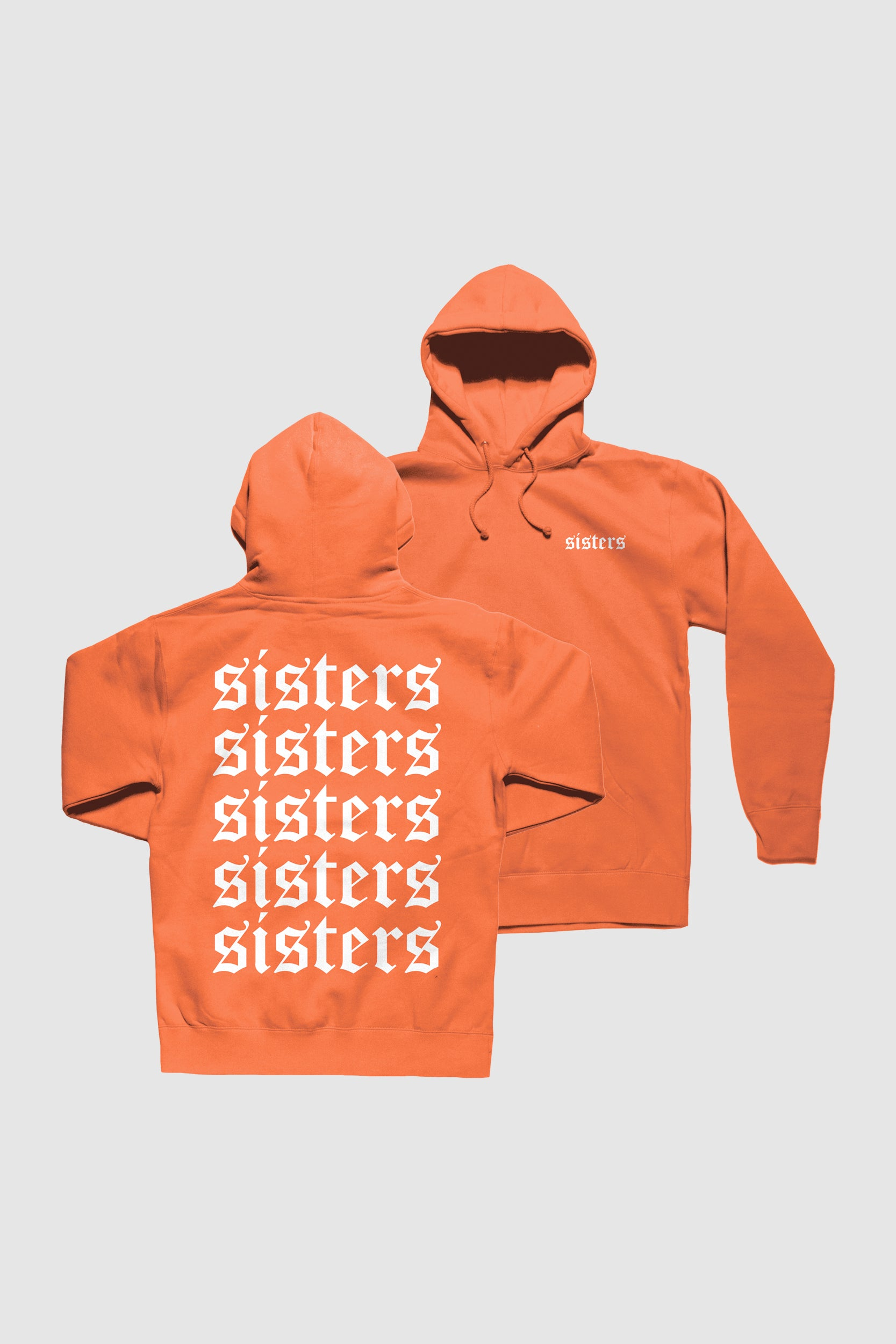 Originals Repeating Orange Hoodie