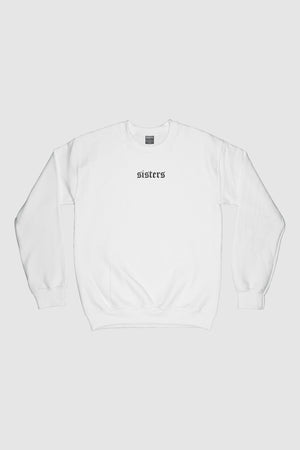 Sleek White Crewneck