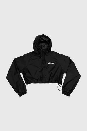Downtown Cropped Windbreaker