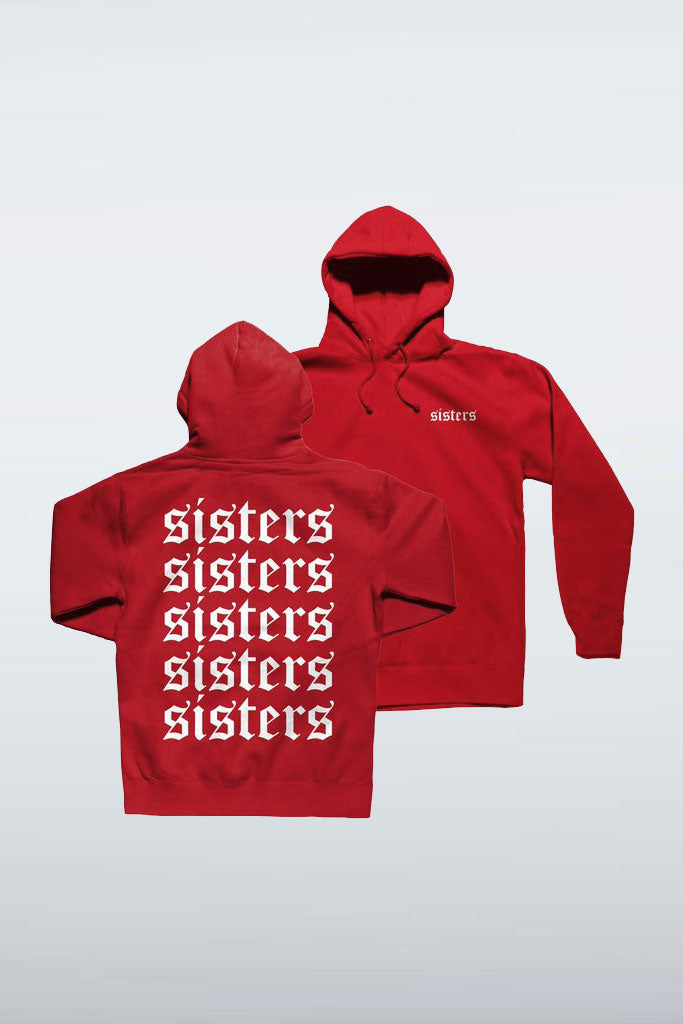 Repeating Red Hoodie