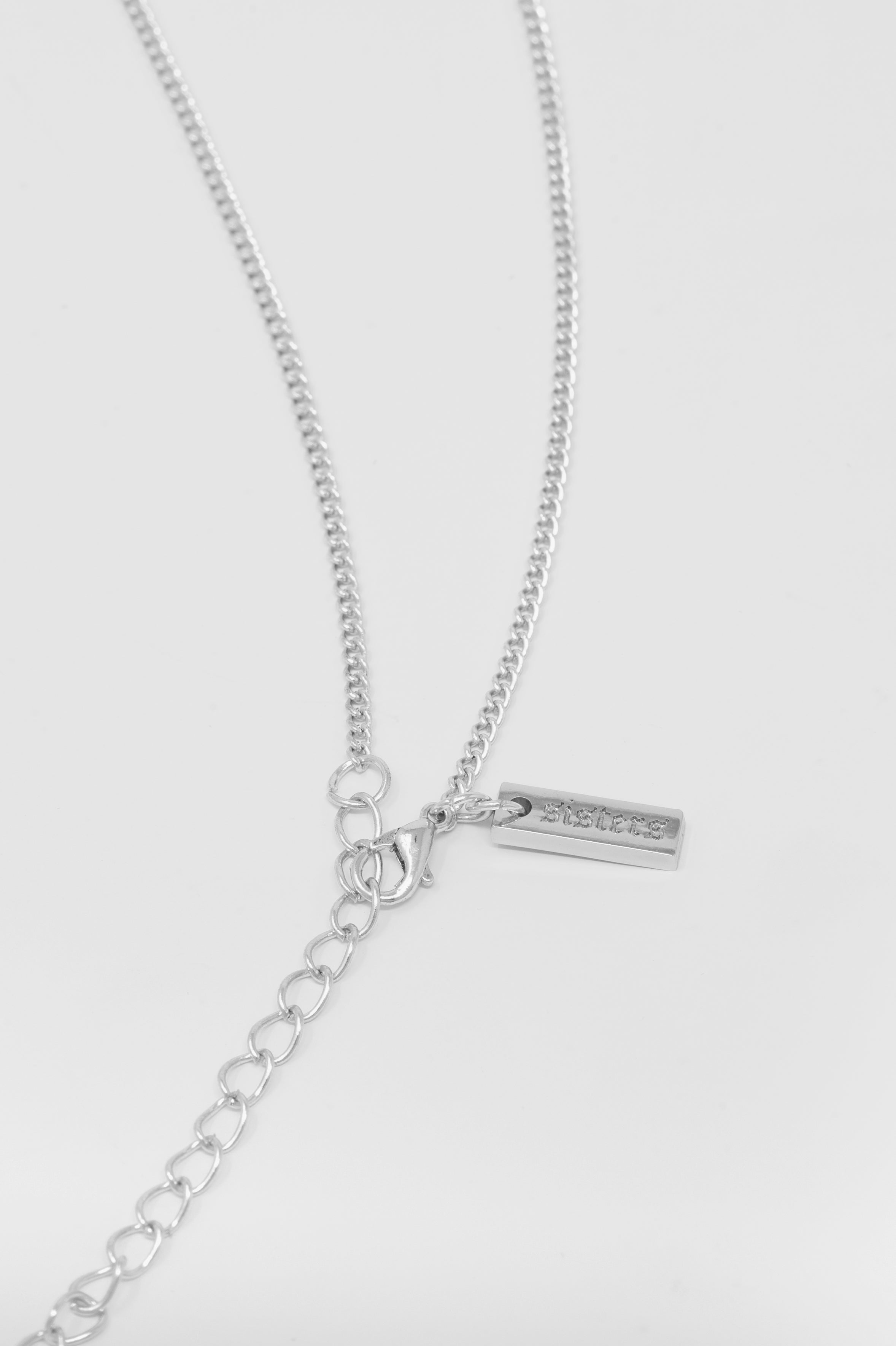 Sisters Logo Necklace - Silver