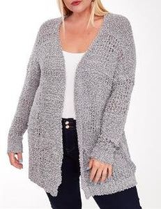 Knitted cardigan - Curvy Girl