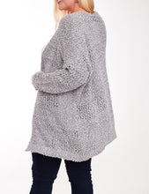 Load image into Gallery viewer, Knitted cardigan - Curvy Girl