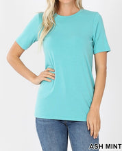 Load image into Gallery viewer, Round neck basic tee