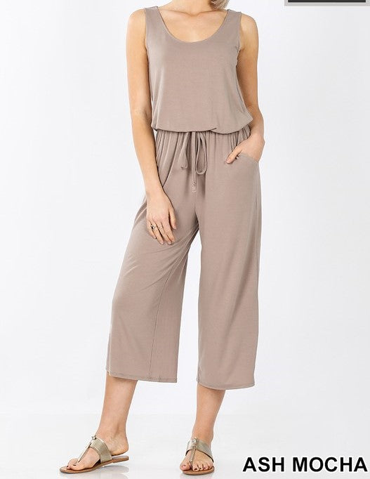 Sleeveless jumpsuit - Curvy Girl