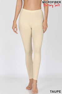 Microfiber buttery soft sized leggings