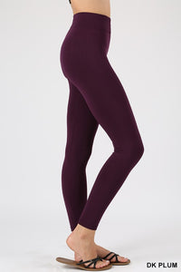 Seamless fleece leggings - SIZED - Multiple colors available