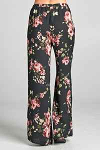 Woven palazzo pants - Available in Multiple colors