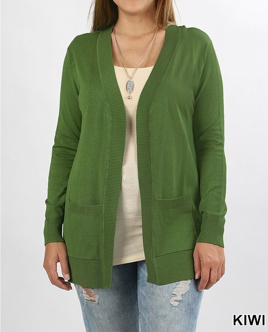Open front cardigan - Curvy Girl