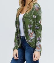 Load image into Gallery viewer, Emily floral print cardigan
