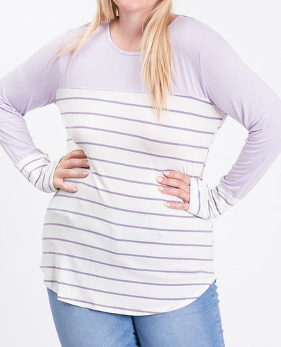 Long Sleeve top - Curvy Girl