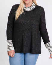 Load image into Gallery viewer, Cowl neck sweater