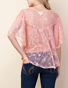 Flair lace top