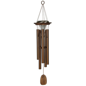 Moonlight Solar Chime - Bronze