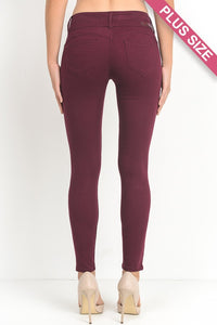 Mid-rise skinnies - Curvy Girl