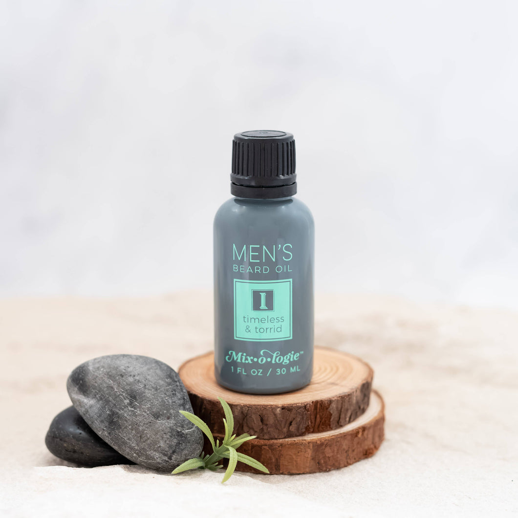 Mixologie - Beard Oil -MEN I (Timeless & Torrid)