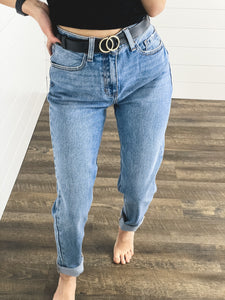 Cello Mom Fit Jeans