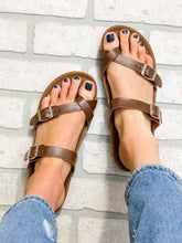 Load image into Gallery viewer, Double Buckle Sandal