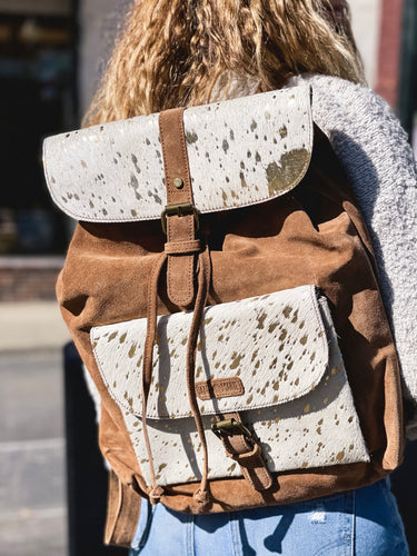 Mable suede backpack