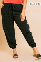 Load image into Gallery viewer, High waist jogger pant - Curvy Girl