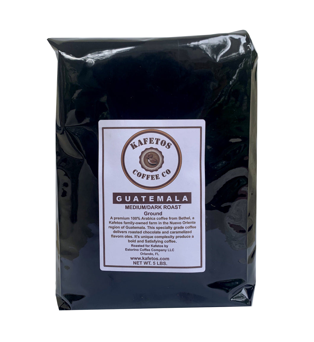 Guatemala Medium Dark Ground Specialty Grade (5 lbs.).