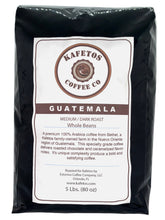 Load image into Gallery viewer, Medium Dark Whole Beans | 5 lbs. - KafetosCoffee