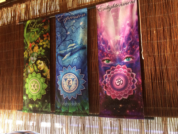 Chakra Small Banners (set of 8)