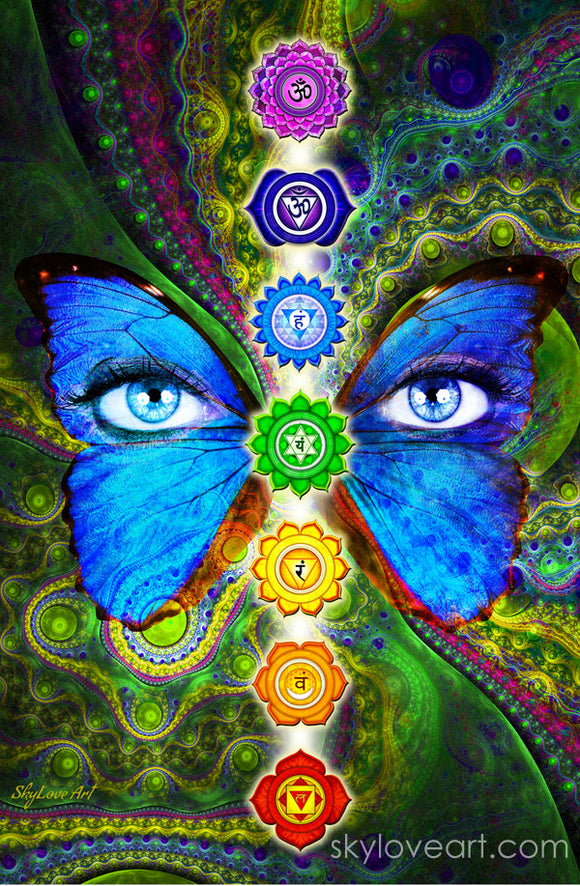 Spiritual Designs Chakra Banners And Healing Art By Skyloveart