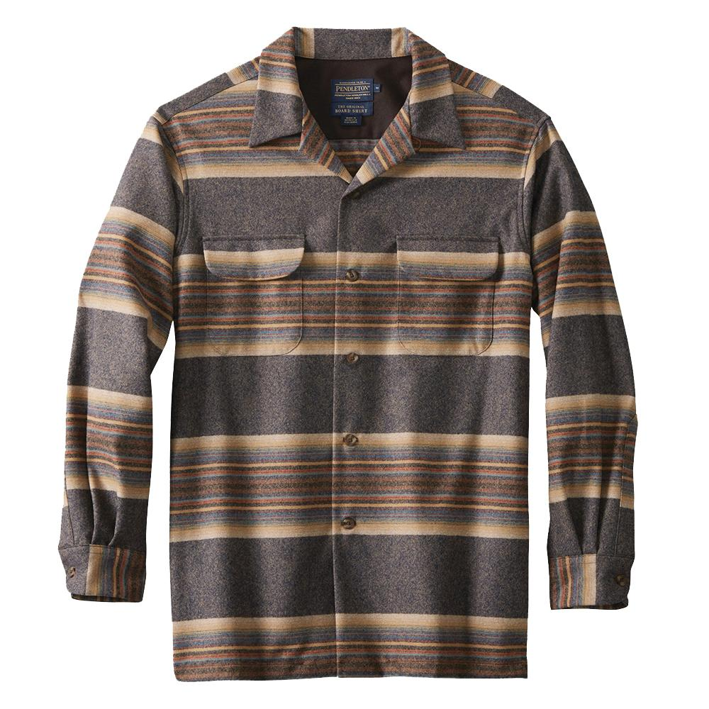 Fitted Board Shirt, striped