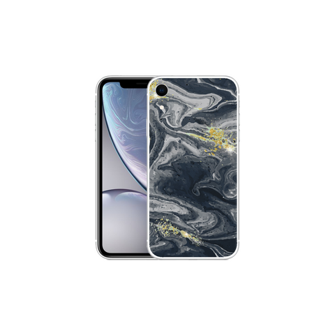 APPLE IPHONE XR Marble Wave Gray