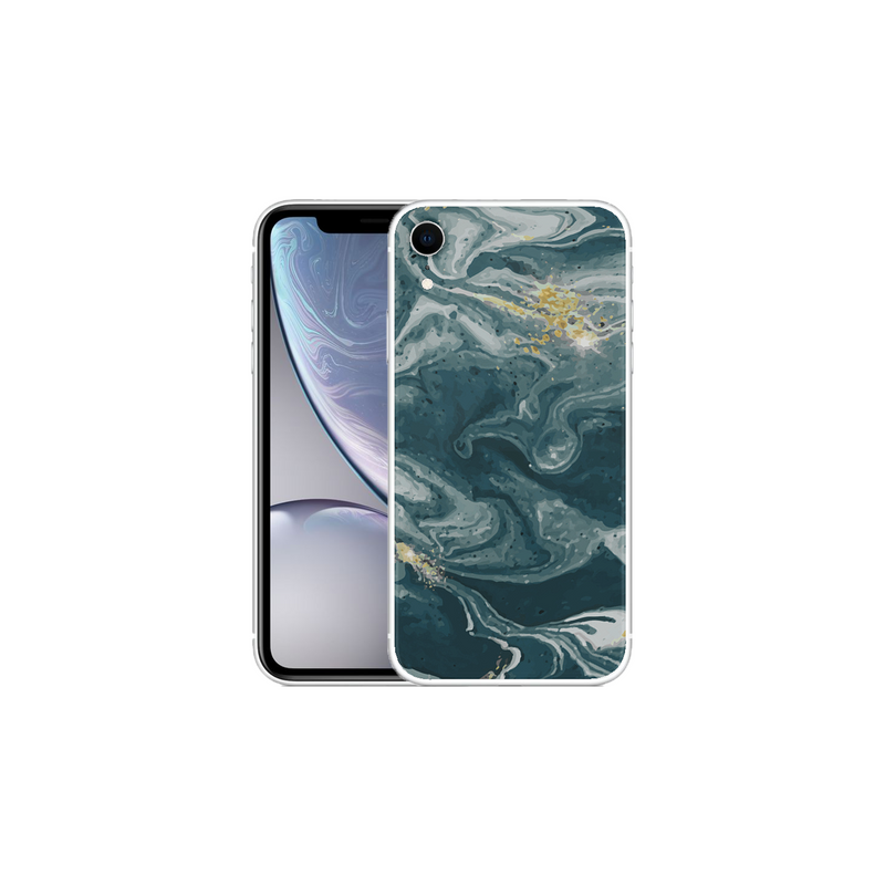 APPLE IPHONE XR Marble Wave Blue