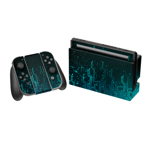 NINTENDO SWITCH Abstract Blue