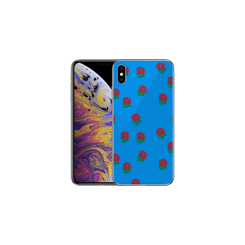 APPLE IPHONE X/XS Remembrance Poppy Blue