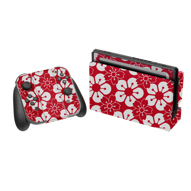 NINTENDO SWITCH Cherry Blossom Red