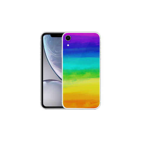 APPLE IPHONE XR Rainbow Arcylic