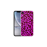 APPLE IPHONE XR Leopard Pattern Shocking Pink