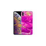 APPLE IPHONE X/XS Marble Wave Magenta