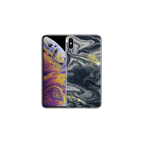 APPLE IPHONE X/XS Marble Wave Gray