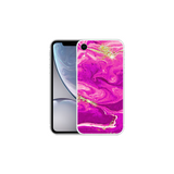 APPLE IPHONE XR Marble Wave Magenta
