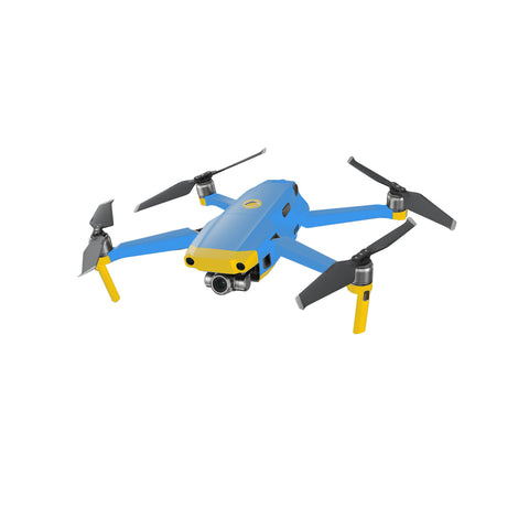 DJI MAVIC 2 Dual Blue and Yellow