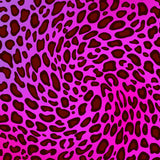 APPLE IPHONE X/XS Leopard Pattern Shocking Pink