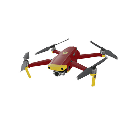 DJI MAVIC 2 Dual Red and Yellow