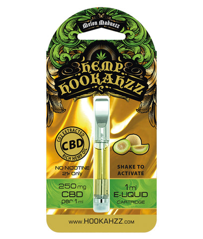 250mg Hemp CBD E-Liquid Prefilled Cartridge - Melon - Assuage Hemp CBD Products