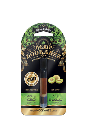 40mg Hemp CBD E-Liquid Prefilled Cartridge - Melon Madnezz - Assuage Hemp CBD Products