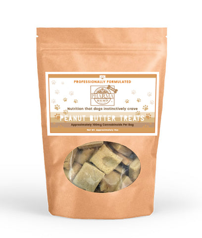 CBD Edible Peanut Butter Dog Treats - Assuage Hemp CBD Products